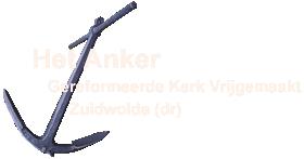 GKV Zuidwolde (dr) – Het Anker Logo